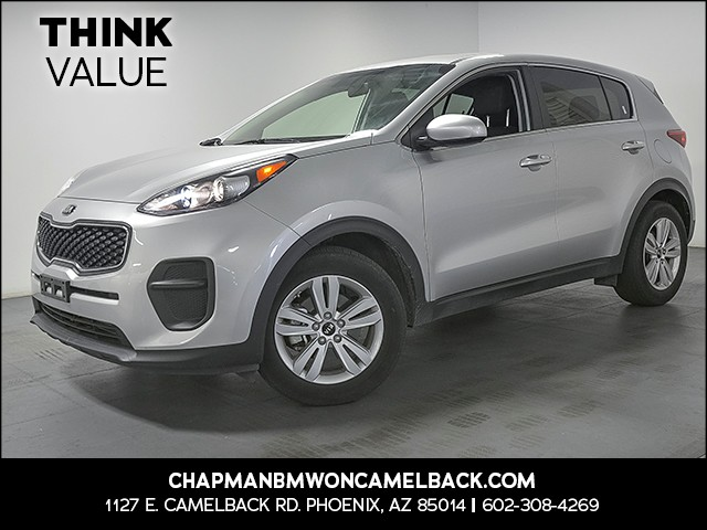 2017 Kia Sportage LX 43369 miles Wireless data link Bluetooth Cruise control 2-stage unlocking