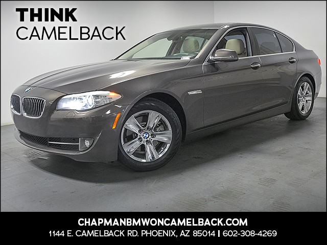 2012 BMW 5-Series 528i 88757 miles 1144 E Camelback Rd 6023852286 Chapman BMW on Camelback is