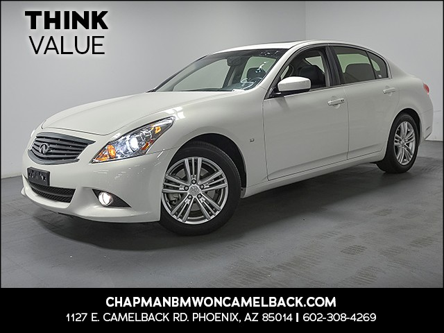 2015 INFINITI Q40 23223 miles Wireless data link Bluetooth Cruise control Power door locks Ant