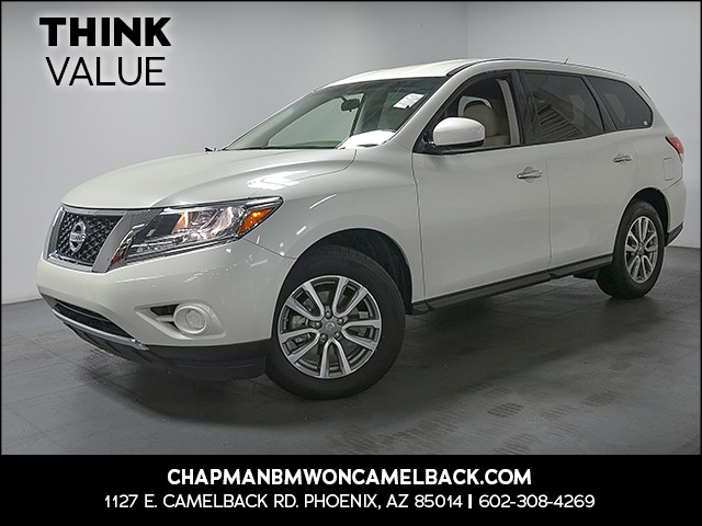 2015 Nissan Pathfinder S 39721 miles Cruise control Power door locks Anti-theft system alarm w