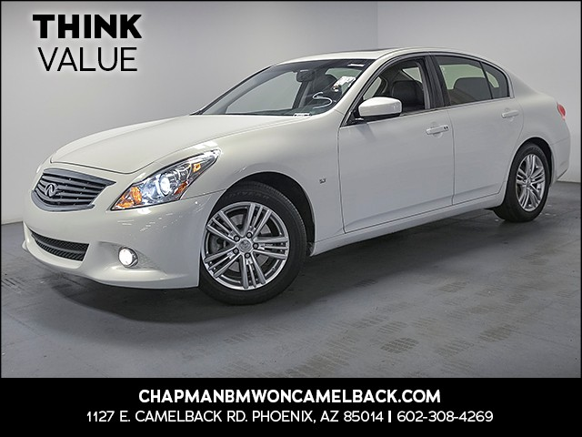 2015 INFINITI Q40 43134 miles Wireless data link Bluetooth Cruise control Power door locks Ant