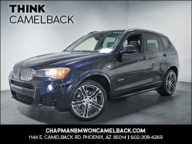 2015 BMW X3 xDrive28i 26196 miles M Sport Package Premium Package Technology Package Driving A