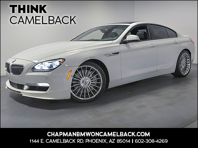 2015 BMW 6-Series ALPINA B6 xDrive Gran Coupe 41217 miles Executive Package Driver Assistance Pl