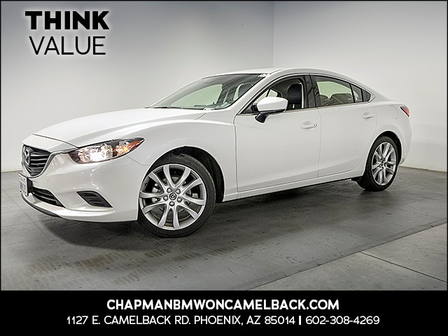 2017 Mazda MAZDA6 Touring 40388 miles Wireless data link Bluetooth Cruise control 2-stage unloc