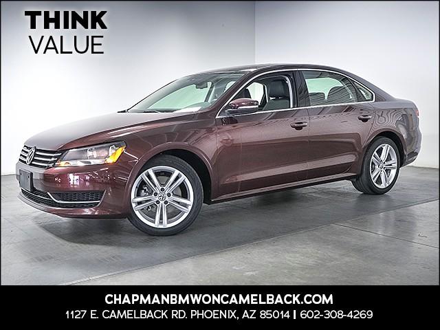 2014 Volkswagen Passat SE PZEV 30332 miles 6023852286 Chapman Value Center in Phoenix specia