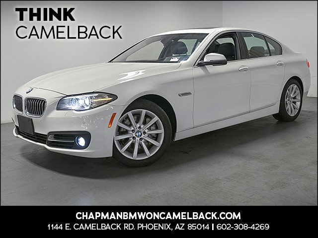2015 BMW 5-Series 535i 36363 miles 1144 E Camelback Rd 6023852286 Chapman BMW on Camelback is