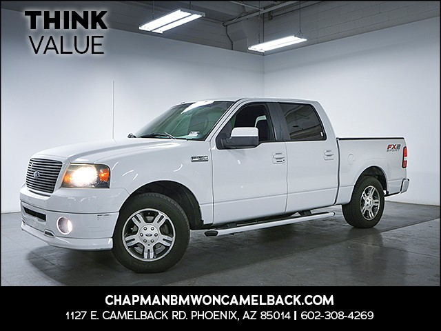 2008 Ford F-150 FX2 Sport Crew Cab 131945 miles Cruise control Power door locks Steering wheel