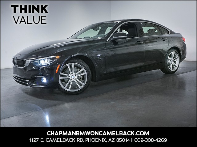 2018 BMW 4-Series 430i Gran Coupe 12190 miles 1144 E Camelback Rd 6023852286 Chapman BMW on C