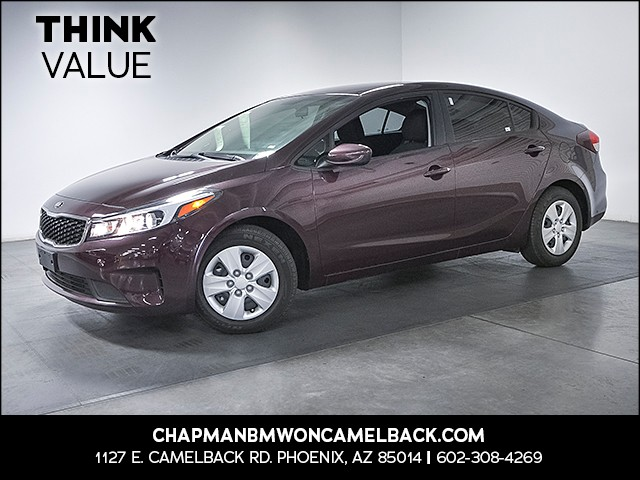 2017 Kia Forte LX 13359 miles 6023852286 Chapman Value Center in Phoenix specializing in lat