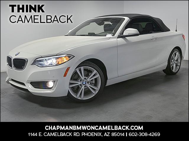 2015 BMW 2-Series Conv 228i 20554 miles 1144 E Camelback Rd 6023852286 Chapman BMW on Camelba