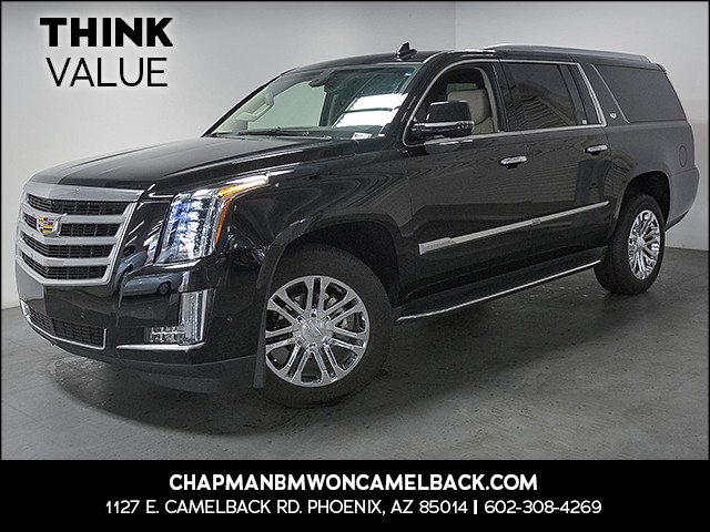 2017 Cadillac Escalade ESV Standard 10717 miles Driver assistance app roadside assistance Real t