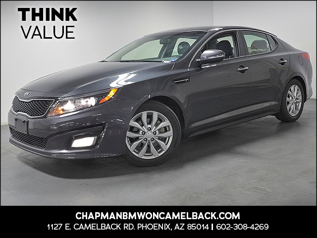 2015 Kia Optima LX 87222 miles Wireless data link Bluetooth Cruise control 2-stage unlocking do