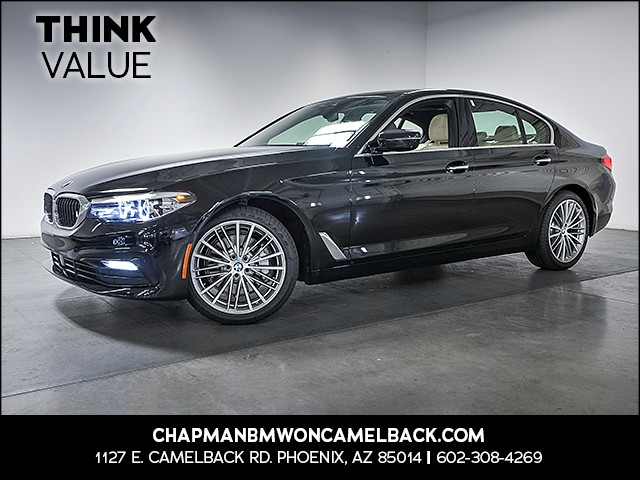 2017 BMW 5-Series 530i 12206 miles 1144 E Camelback Rd 6023852286 Chapman BMW on Camelback is