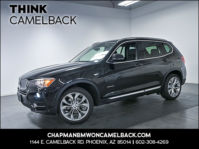 2017 BMW X3 sDrive28i 5556 miles 1144 E Camelback Rd 6023852286 Chapman BMW on Camelback is t