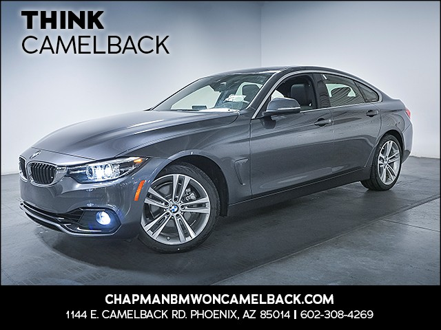 2018 BMW 4-Series 430i Gran Coupe 10593 miles 1144 E Camelback Rd 6023852286 Chapman BMW on C