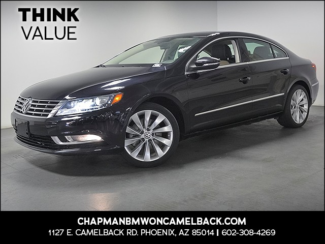2013 Volkswagen CC VR6 Lux 34572 miles Real time traffic Wireless data link Bluetooth Cruise co