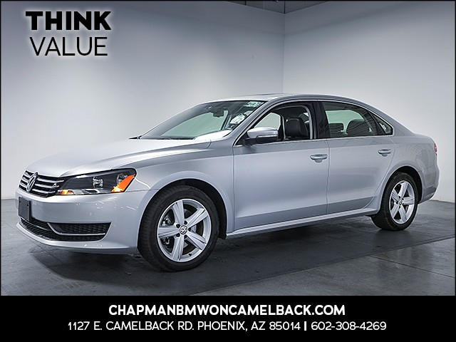 2013 Volkswagen Passat SE PZEV 48934 miles Wireless data link Bluetooth Cruise control 2-stage
