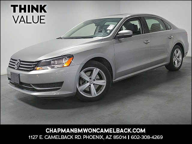 2013 Volkswagen Passat SE PZEV 31406 miles Wireless data link Bluetooth Cruise control 2-stage