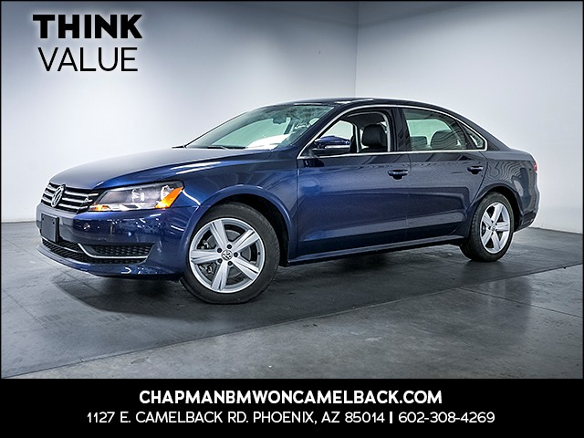 2012 Volkswagen Passat SE PZEV 42091 miles Wireless data link Bluetooth Cruise control Anti-the