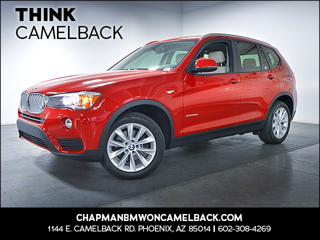 2015 BMW X3 xDrive28d 14369 miles 1144 E Camelback Rd 6023852286 Chapman BMW on Camelback is