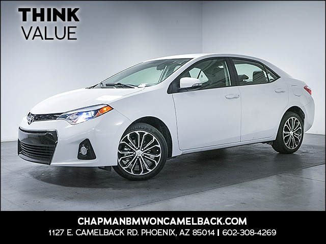 2016 Toyota Corolla S Plus 33605 miles Wireless data link Bluetooth Cruise control 2-stage unlo