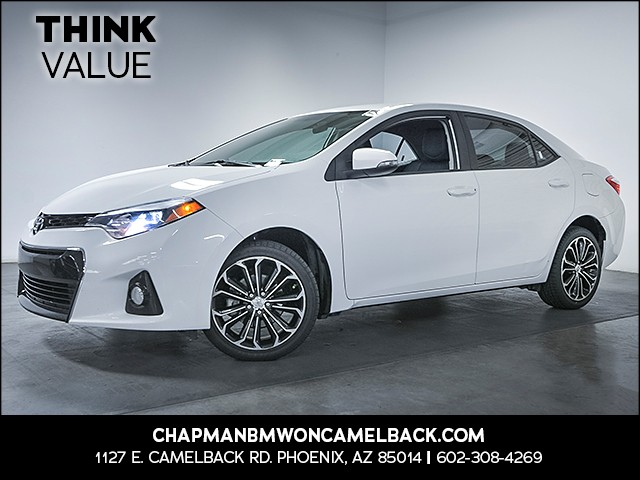 2015 Toyota Corolla S 86298 miles Wireless data link Bluetooth Cruise control Anti-theft system