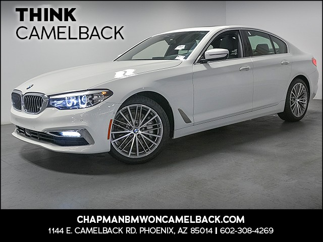 2017 BMW 5-Series 530i 12271 miles Luxury Line Cold Weather Package Driving