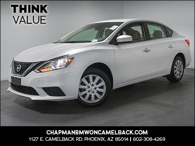 2017 Nissan Sentra SV 6296 miles Wireless data link Bluetooth Cruise control 2-stage unlocking