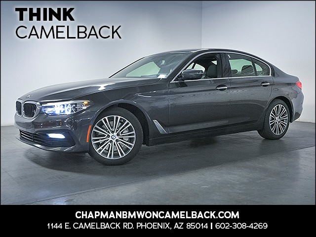 2017 BMW 5-Series 530i 10845 miles Sport Line Premium Package Driver Assistance Package Real t