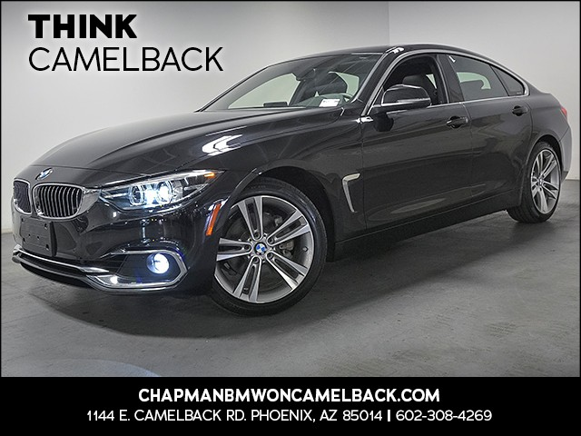 2018 BMW 4-Series 430i Gran Coupe 8713 miles 1144 E Camelback Rd 6023852286 Chapman BMW on Ca