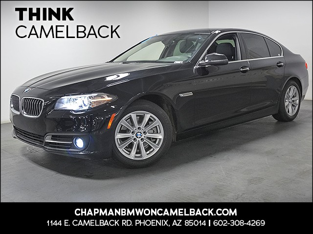 2015 BMW 5-Series 528i 34548 miles Real time traffic Wireless data link Bluetooth Phone hands f