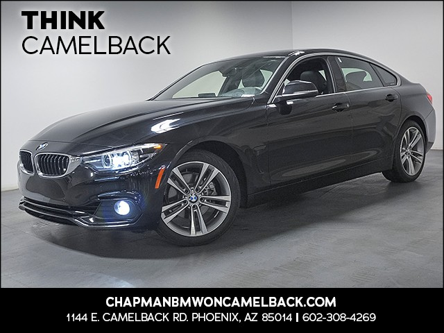 2018 BMW 4-Series 430i Gran Coupe 14002 miles 1144 E Camelback Rd 6023852286 Chapman BMW on C