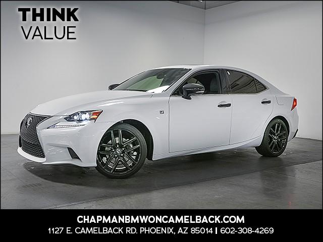 2015 Lexus IS 250 F-Sport 41164 miles 6023852286 Chapman Value Center in Phoenix specializin