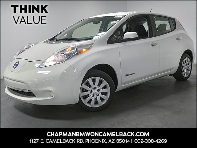 2015 Nissan LEAF S 25165 miles 6023852286 Chapman Value Center in Phoenix specializing in la
