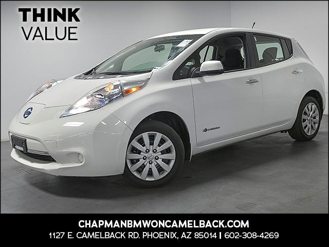 2014 Nissan LEAF S 35018 miles 6023852286 Chapman Value Center in Phoenix specializing in la
