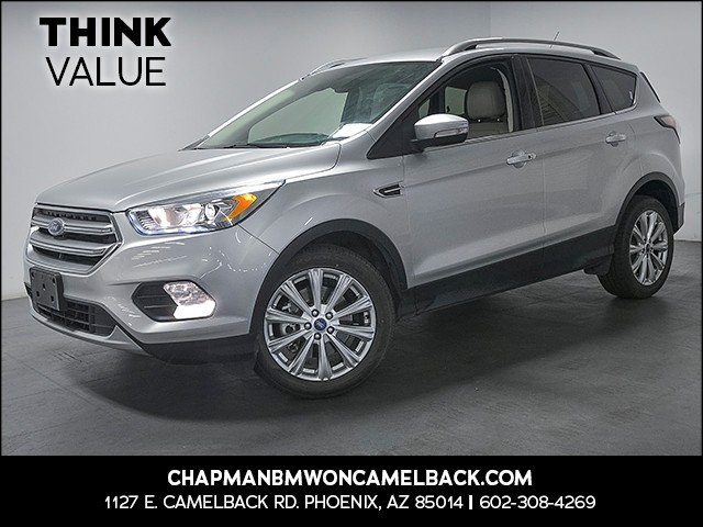 2017 Ford Escape Titanium 39460 miles 6023852286 Chapman Value Center in Phoenix specializin
