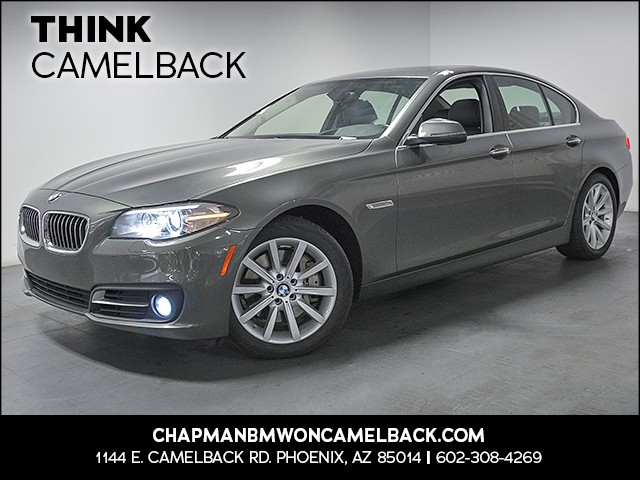 2015 BMW 5-Series 535i 37589 miles Premium Package Driver Assistance Package Real time traffic