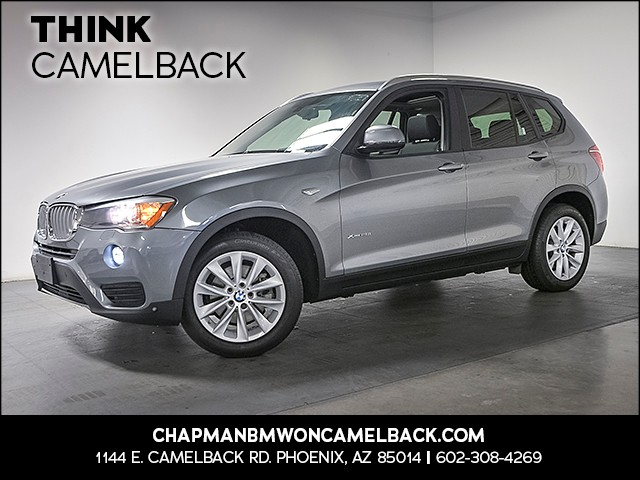 2015 BMW X3 xDrive28i 12895 miles Technology Package Driving Assistance Package Wireless data l