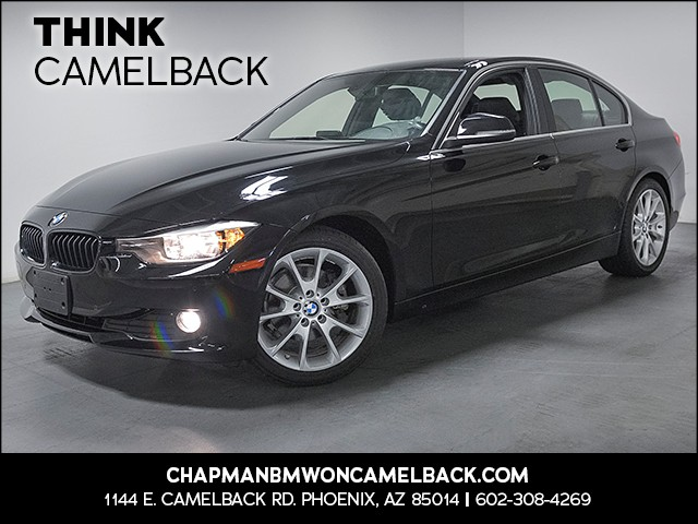 2015 BMW 3-Series Sdn 320i 31046 miles Sport Package Driving Assistance Package Wireless data l