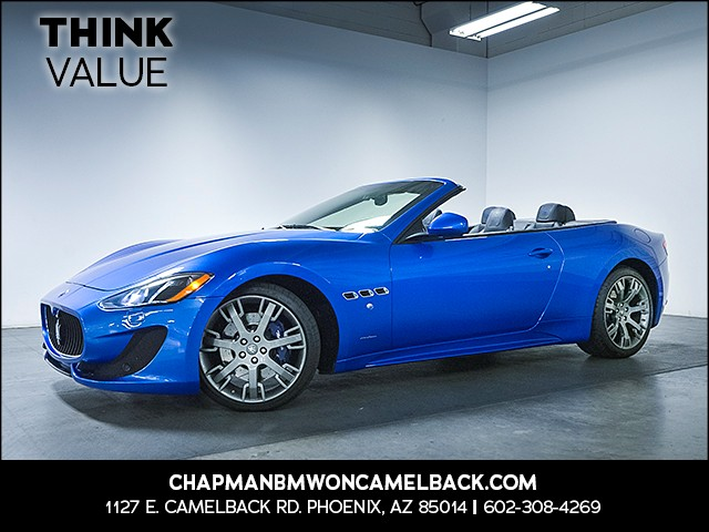 2015 Maserati GranTurismo Sport 23375 miles 6023852286 Chapman Value Center in Phoenix speci