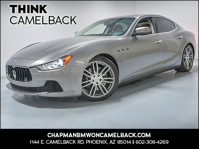 2015 Maserati Ghibli S Q4 18282 miles VIN ZAM57RTA4F1146264 For more information contact our