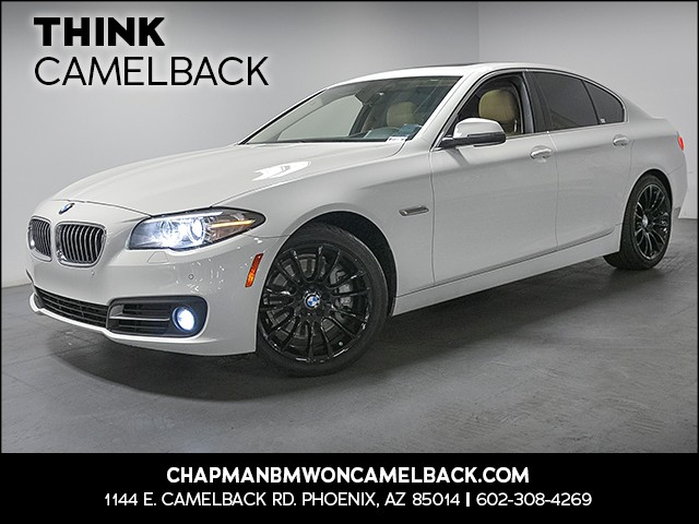 2015 BMW 5-Series 535i 30260 miles Premium Package Driving Assistance Package Phone hands free