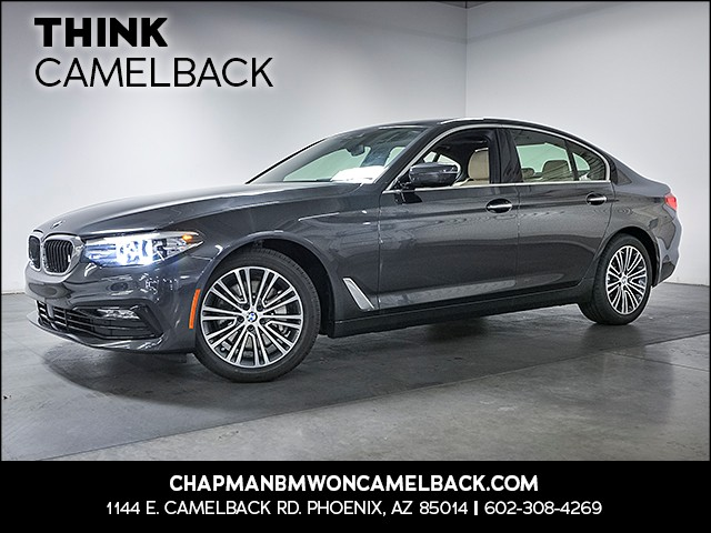 2018 BMW 5-Series 530i 8847 miles Sport Line Premium Package Driving Assistance Package Driver