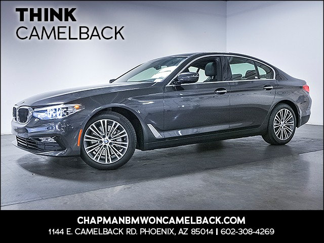 2017 BMW 5-Series 530i 9997 miles Sport Line Premium Package Driver Assistance Package Phone h