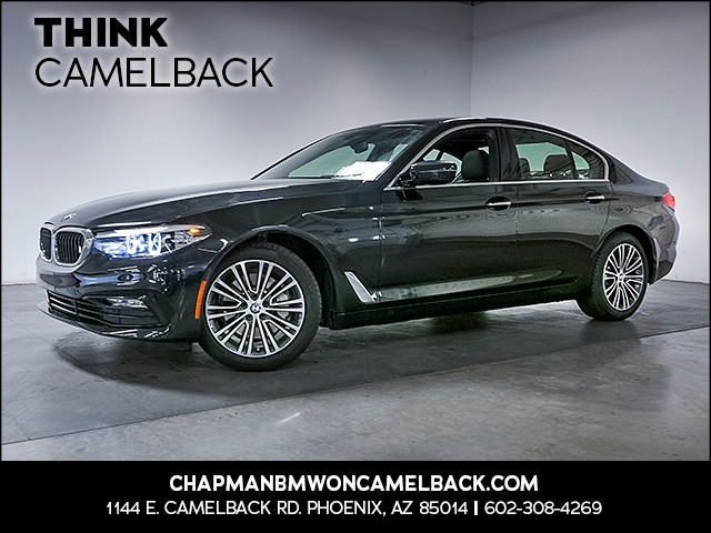 2017 BMW 5-Series 530i 9203 miles Sport Line Premium Package Driver Assistance Package Phone h