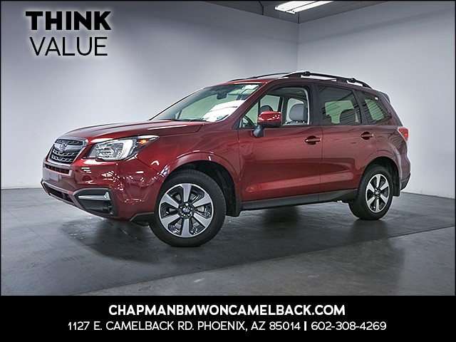 2017 Subaru Forester 25i Premium 15298 miles Satellite communications voice guided directions W
