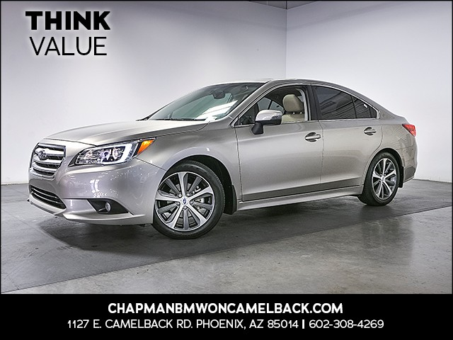 2015 Subaru Legacy 25i Limited 17989 miles Wireless data link Bluetooth Electronic messaging as