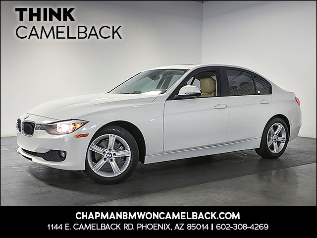 2015 BMW 3-Series Sdn 320i 21280 miles Premium Package Phone hands free Wireless data link Blue