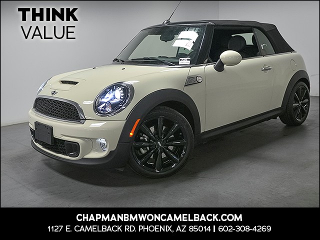 2015 MINI Convertible Cooper S 19575 miles Phone hands free Wireless data link Bluetooth Cruise