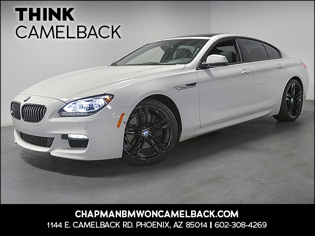 2015 BMW 6-Series 650i Gran Coupe 31121 miles M Sport Package Executive Package Driving Assista